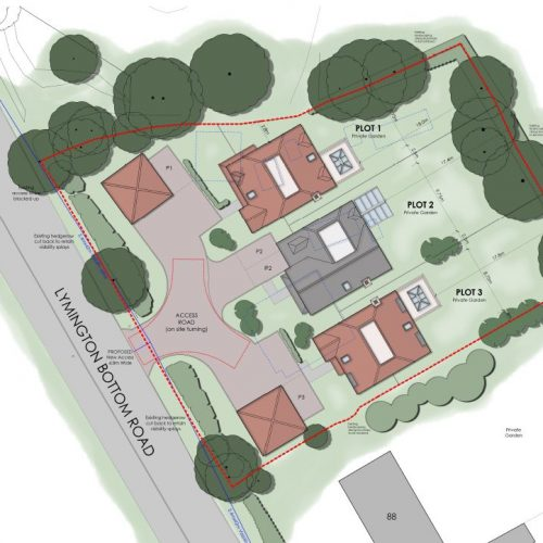 site plan website image